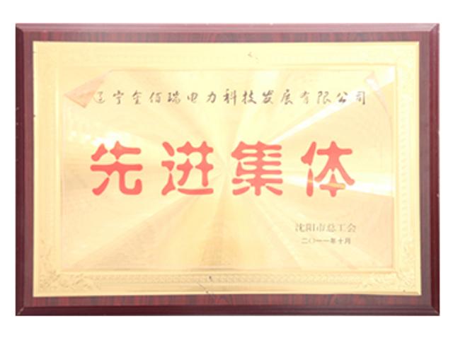 沈阳市总工会授予先进集体殊荣